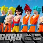 GOKU from Dragon Ball saga All in 1 [Add-On/Replace] 1.1
