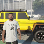 Gucci Logo T-Shirt for Franklin 1.0