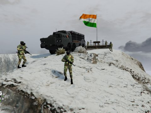 INDIAN ARMY BASE CAMP 1