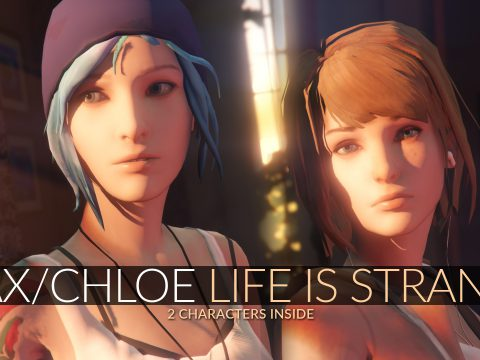 Max Caulfield & Chloe Price Life is Strange [Add-On Ped | Replace] 1.0