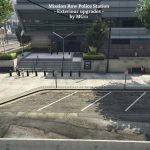 Mission Row PD Exteriour upgrade for Roleplay | YMAP - FiveM ready 1.0