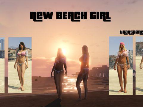 New beach girl