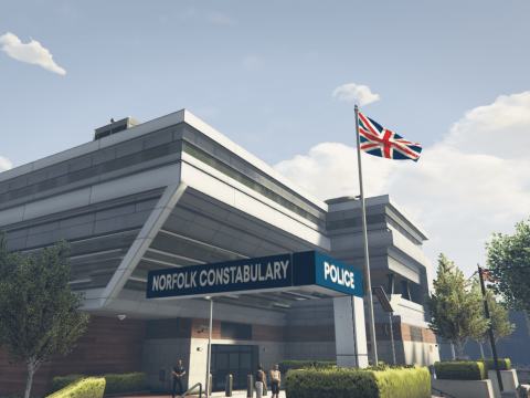 Norfolk Constabulary | Mission Row Re-Skin / Re-Model 1.0