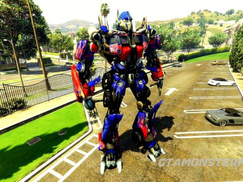 Optimus Prime [Add-On Ped]