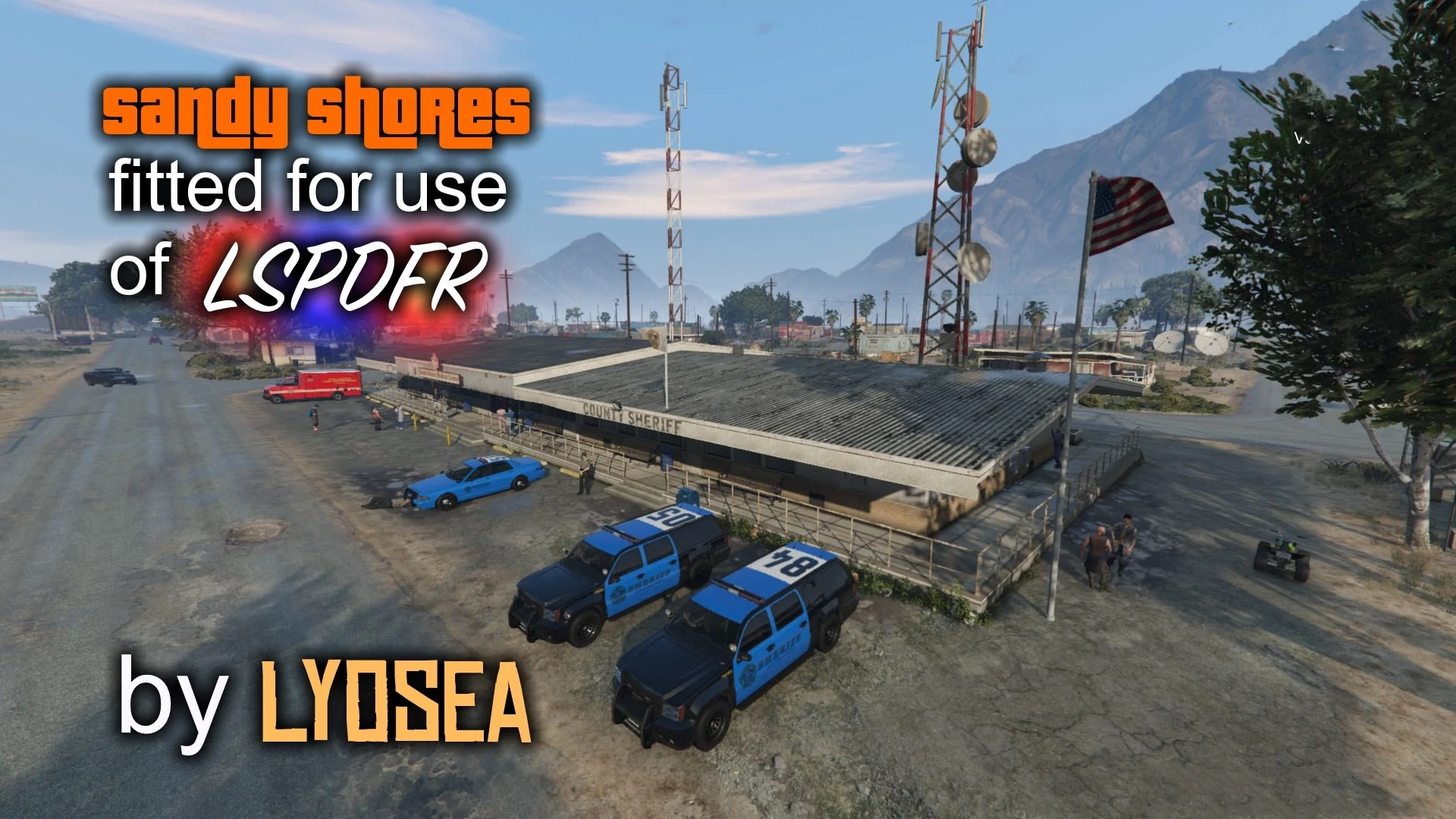 Sandy Shores Fitted for LSPDFR
