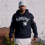 Supreme x NY Yankee's - Pullover hoodie 2.0