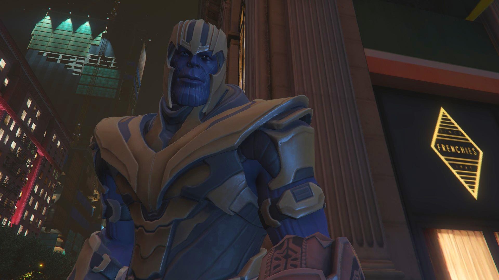 Thanos Fortnite Version [Add-on Ped] 1.0