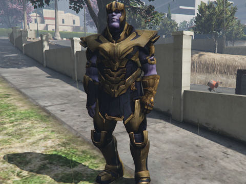 Thanos (Avengers Endgame) Add-On