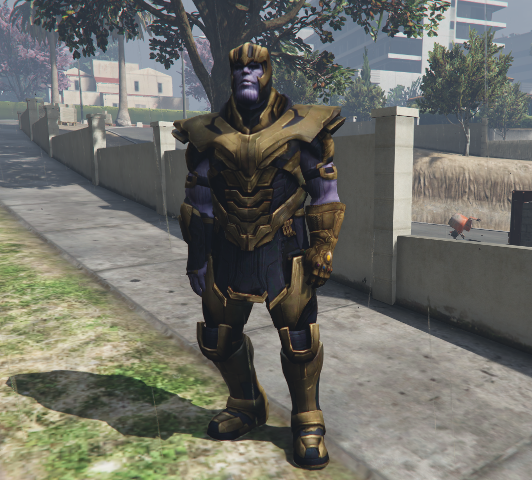 Thanos (Avengers Endgame) Add-On