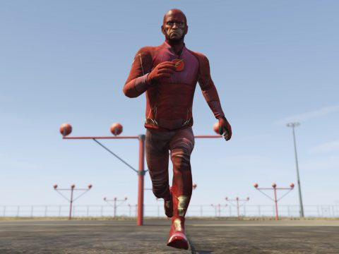 The Flash Suit - Trevor 1.0