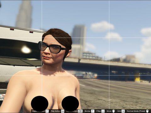 Topless Amanda De Santa 3.5