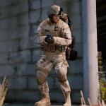 [Combined Setup] US Marine Desert MARPAT Outfits for Franklin, Trevor and Michael