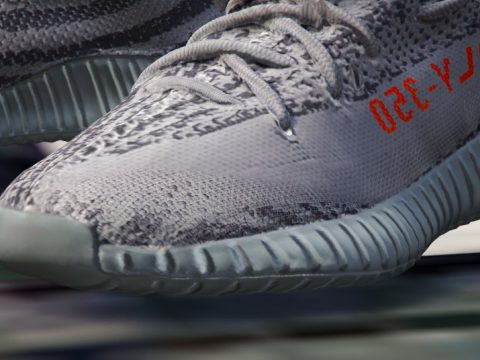 [4K] YEEZY BOOST 350 V2 | GREY / BELUGA 2.0 | REAL COLOURS 1.0