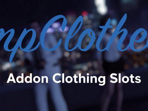 mpClothes - Addon Clothing Slots 1.0