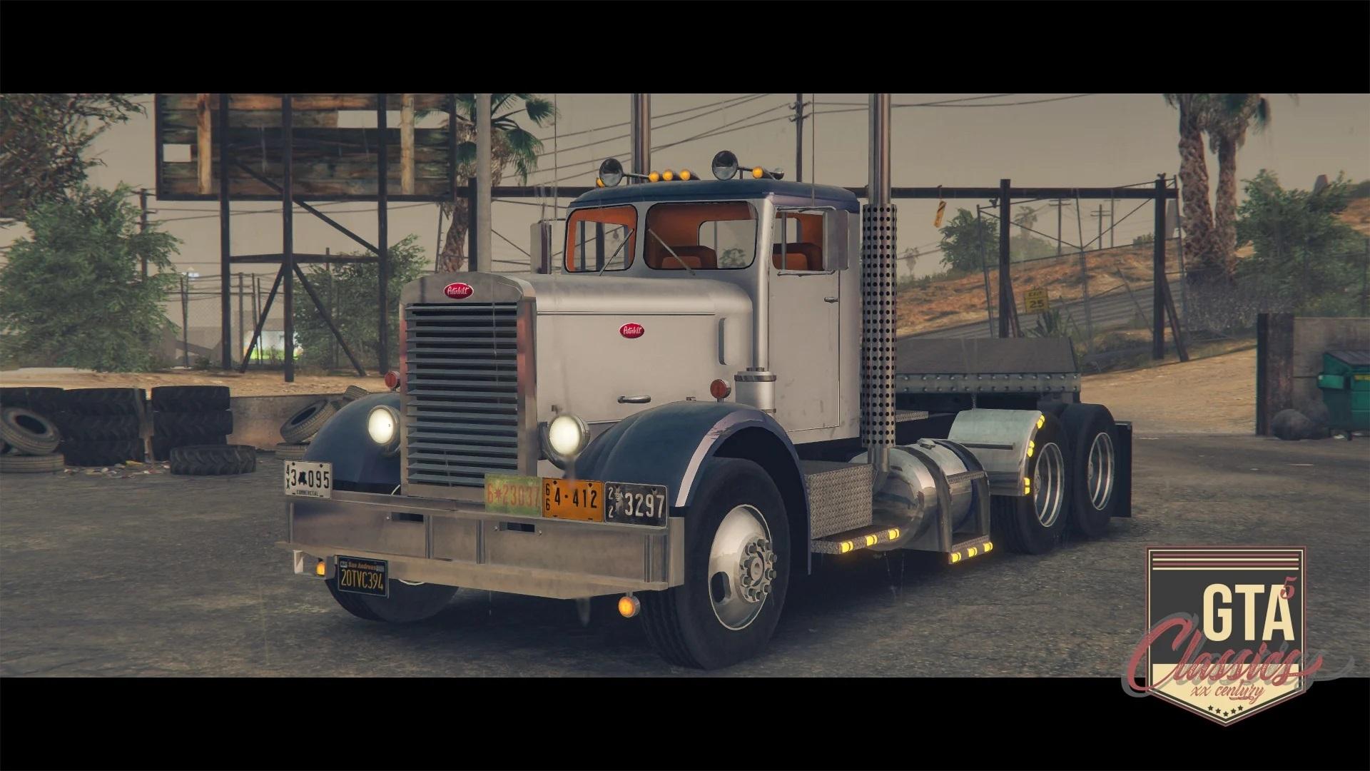 1955 Peterbilt 351 [Add-On | LODs] 1.0