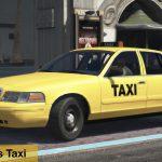 1998 Ford Crown Victoria Taxi+4K Livery LS SF LV VC LC DC V1