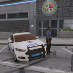 2017 Ford Fusion - Turkish Police [ELS] 1.2 [Crash FİXED!]