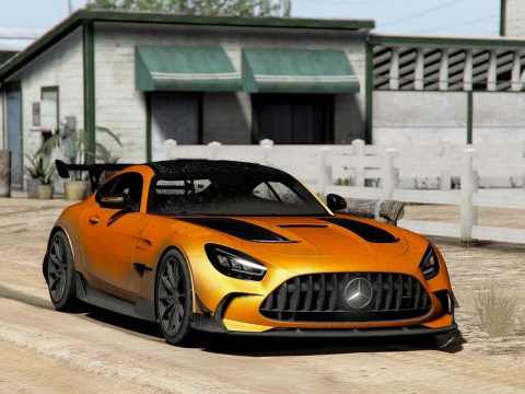 2020 Mercedes Benz AMG GT Black Series [Add-On | LODs | Template] 1.1