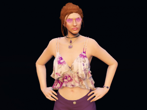 Cute loose top for MP Female 1.0
