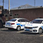 FIAT Egea turkish police car [Replace][ELS] v2