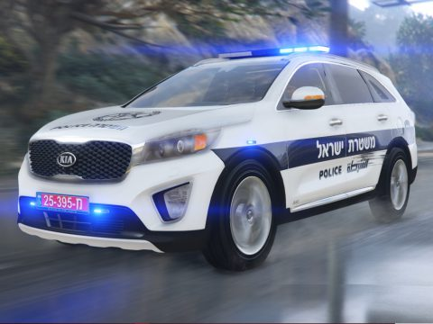 Israel Kia sorento | [Add-On / Fivem Ready / Replace [ELS] V.1