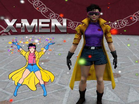 Jubilee from X-Men [Add-On Ped] 1.0