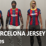 MP FC BARCELONA FOOTBALL JERSEY 20/21 [Fivem Ready] 1.0