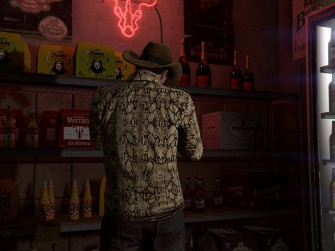 MP MALE Tuco's Snakeskin Button Up 1.1