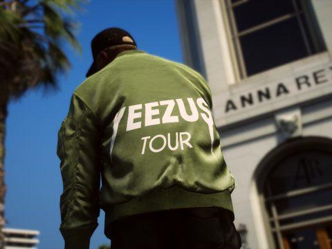 MP MALE Yeezus Tour Bomber Jacket 1.0