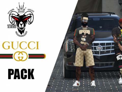 MP Male gucci shirts pack [SP / FiveM] 1.0