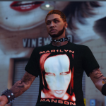 Marilyn Manson Shirt Pack For MP Male 1.0