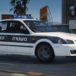 Mazda 323 (lantis) 1999 | An old Israeli police car | [ ELS - Add-on ] +Template 0.1