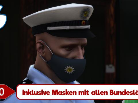 Polizei Mund- & Nasenschutz (Police mask) 1.0