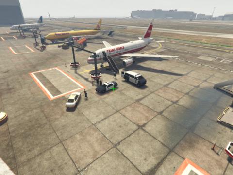 Real airport (ADDON PLANES) {menyoo} 1.0