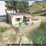 Small lakeside villa on Mount GORDO [Menyoo] 1.0