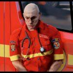 Smurd Paramedic Ped Retexture 1.0