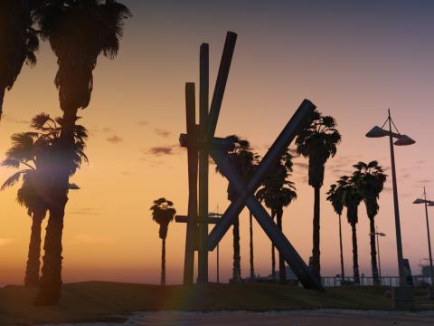 Vespucci Beach Sculpture 1.0
