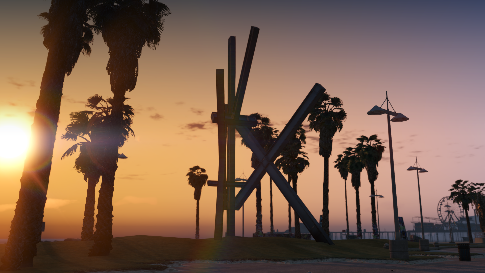 Vespucci Beach Sculpture 1.0