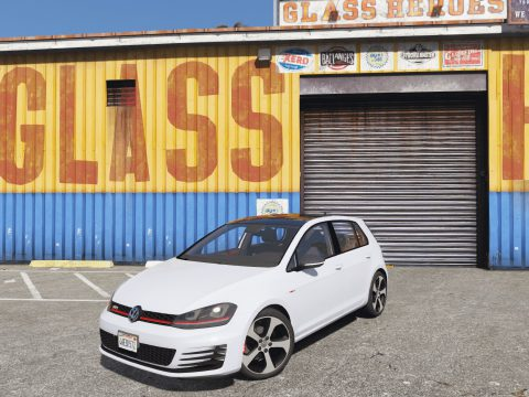 Volkswagen Golf GTI MK7 2015 [Add-On / Replace] 1.0