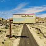 Welcome to Sandy Shores billboard (FiveM Ready) 1.0
