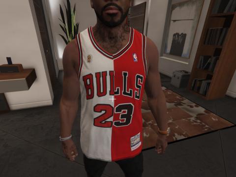 2 Half Michael Jordan Jersey 1.0