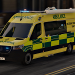 2020 Mercedes Sprinter - South East Coast Ambulance Service - Incident Support Unit [ELS] 1.0