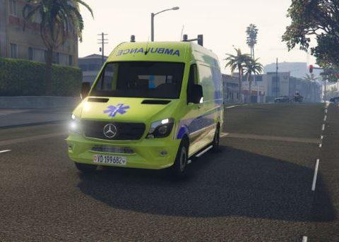 Ambulance RIVIERA Mercedes Sprinter Suisse/Swiss