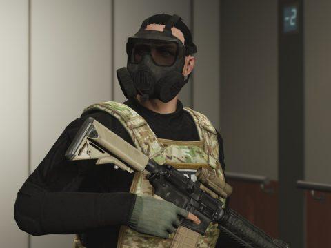 Avon M50 Gas Mask