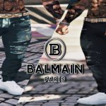 Balmain Jeans With Designer Belt MP Male 1.0