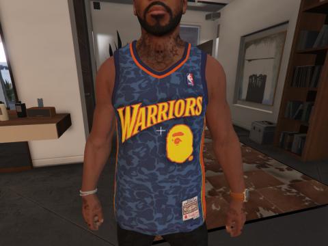 Bape Warriors Jersey 1.0