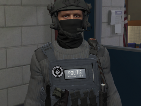 Dutch EUP - DSI - Politie/Police - Helm/vest 1.0