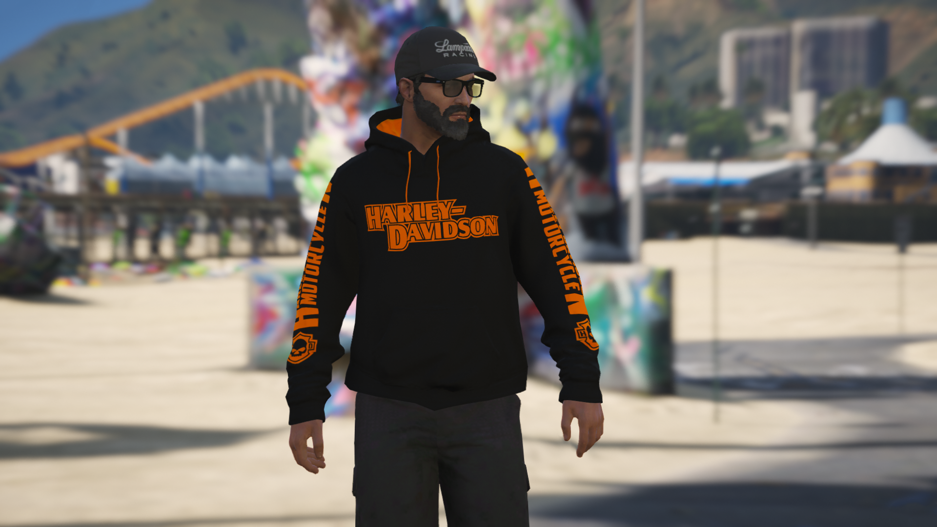 HARLEY DAVIDSON HOODIE FOR MP MALE [FIVEM READY] 1.0