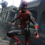 HCU HIRST MOVIES | SPIDER-MAN custom Design-Battle damage texture 0.1