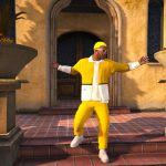 J Balvin Amarillo Yellow Outfit 1.2